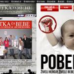Screenshot sa sajta Bitke za bebe